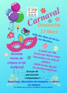 affiche finale carnaval 2019