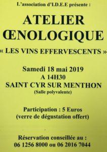 affiche oenologie 2019