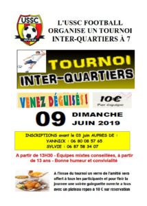 tournoi de foot 2019