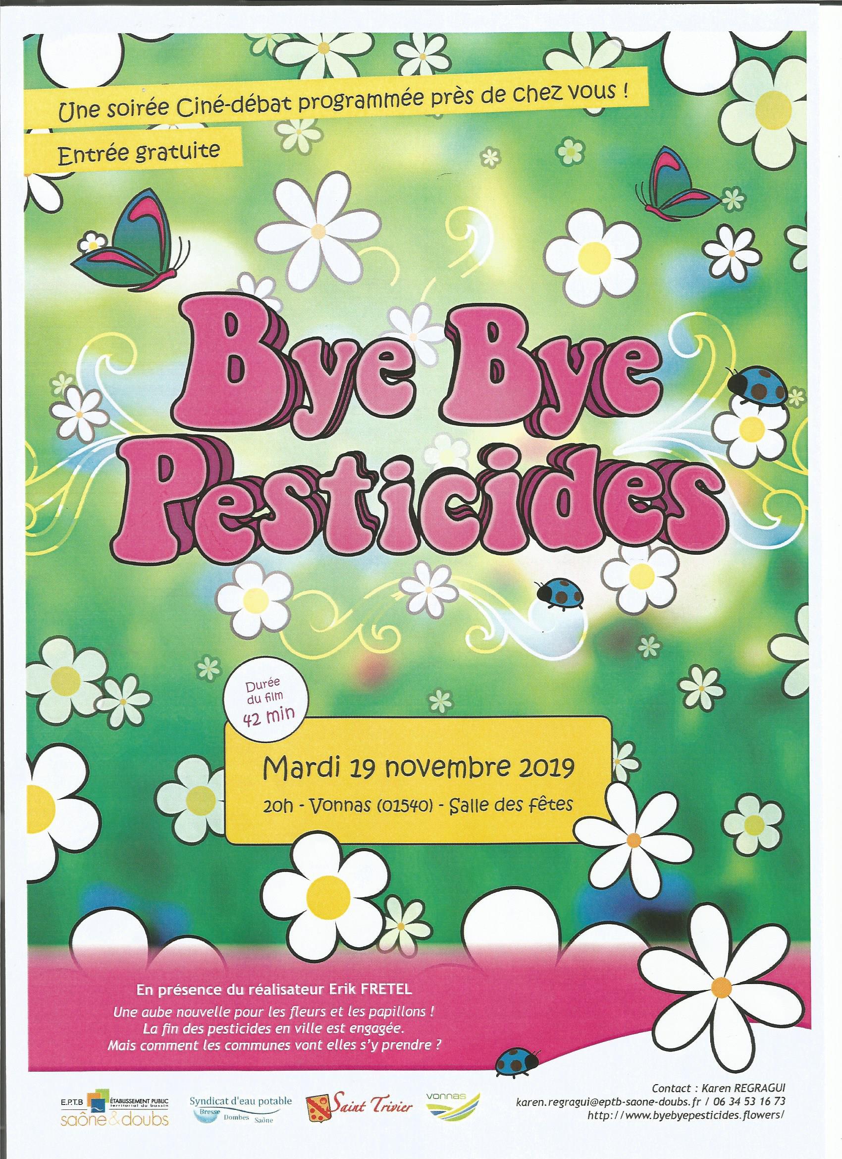 bye bye pesticides