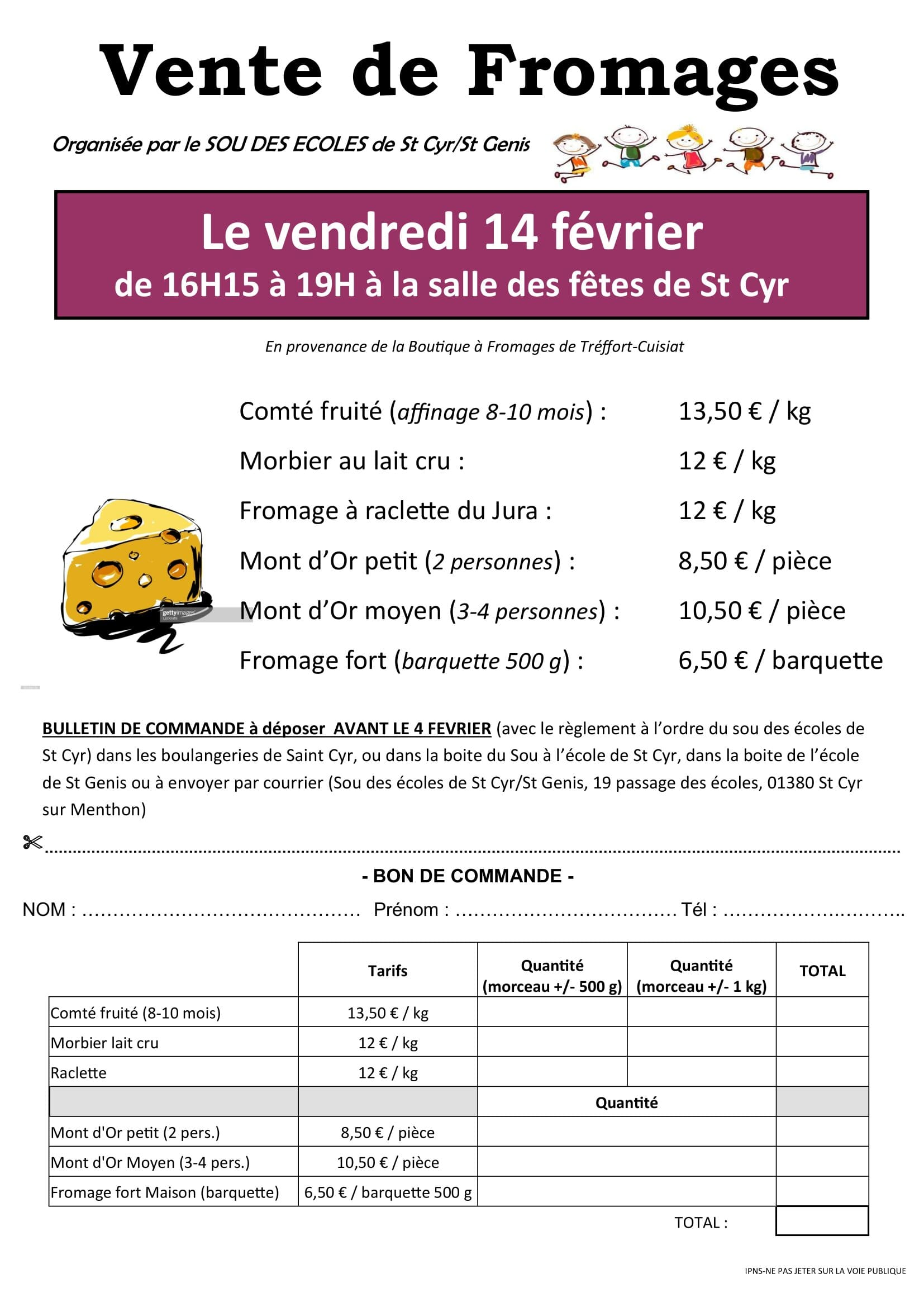 FLYERS VENTE FROMAGE 2020 v2