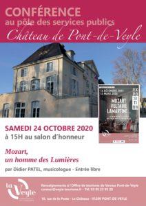 AfficheChateau_Conference_Octobre
